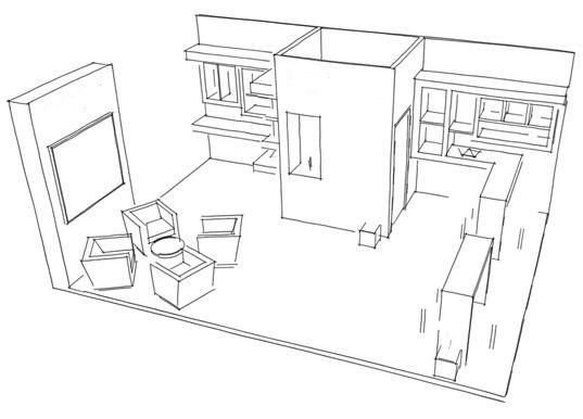 اهمیت فرایند طراحی توسط یک معمار در غرفه سازی