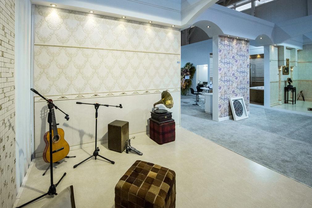 غرفه نمایشگاهی بوم سرامیک