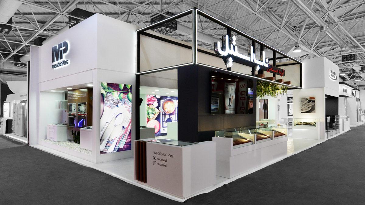 غرفه نمایشگاهی ناب استیل