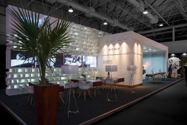 طراحی غرفه نمایشگاهی غرفه ایساتیس