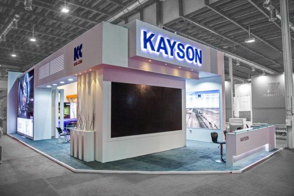 طراحی غرفه نمایشگاهی کیسون