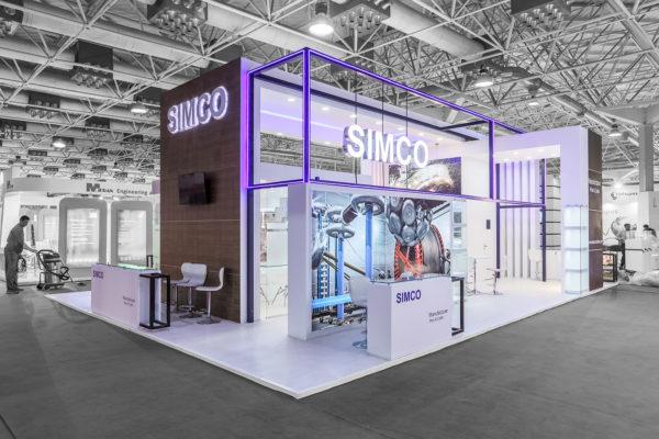 طراحی غرفه نمایشگاهی سیمکو