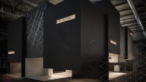 غرفه سازی نمایشگاه نورپردازی Euroluce ٢٠١٥ میلان ایتالیا، شرکت Delta Light