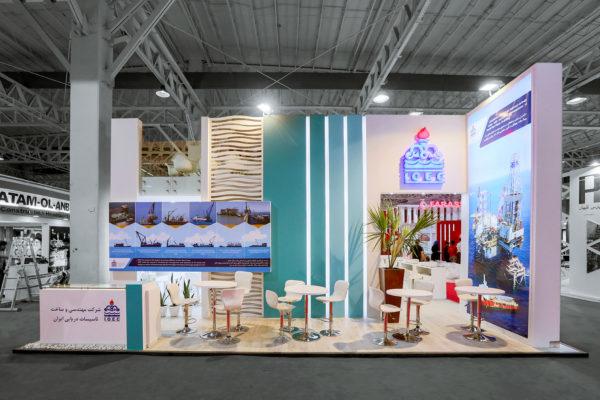 غرفه نمایشگاهی تاسیسات دریایی
