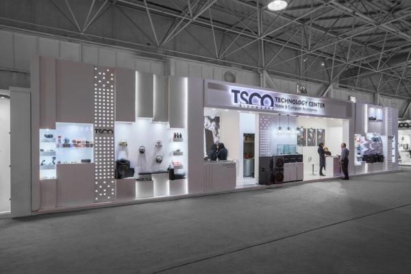 غرفه نمایشگاهی تسکو