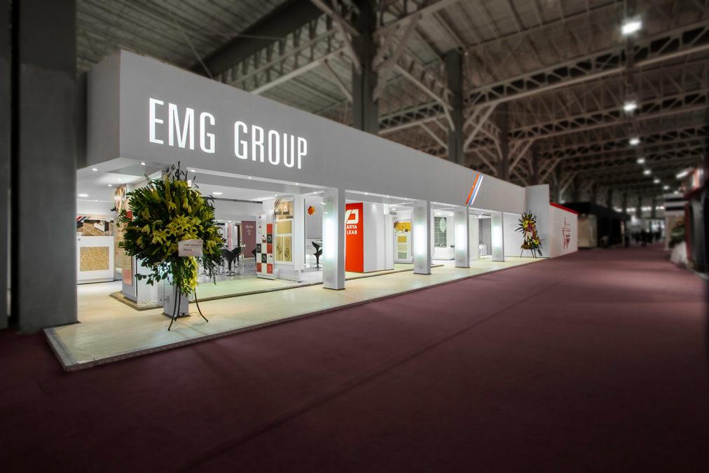 غرفه نمایشگاهی گروه EMG – کاشی میبد