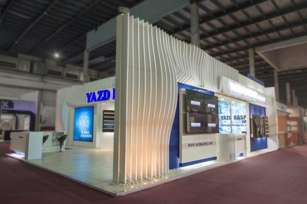 Yazd Baspar Booth