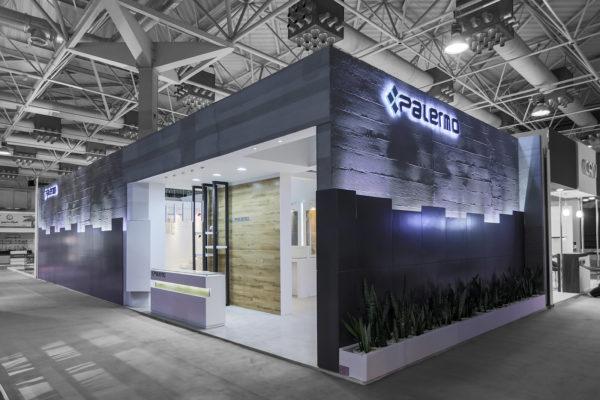 طراحی غرفه نمایشگاهی پالرمو