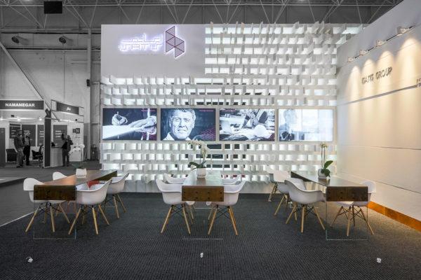 غرفه نمایشگاهی غرفه ایساتیس