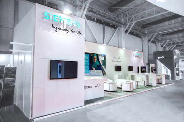 Simens Booth