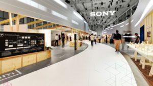 غرفه سازی نمایشگاهی شرکت سونی در نمایشگاه لوازم خانگی و الکترونیک_ ایفا