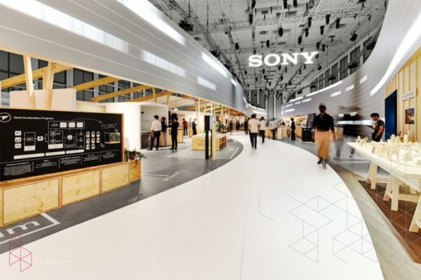 Sony Exhibit Booth at IFA2016 BERLIN