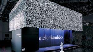 غرفه سازی و طراحی غرفه نمایشگاهی شرکت Atelier Damboeck در نمایشگاه EuroShop ٢٠١٧ – دوسلدوف آلمان