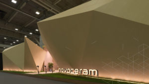Exhibition Stand Design and Exhibition booth  Novoceram Cersaie 2017