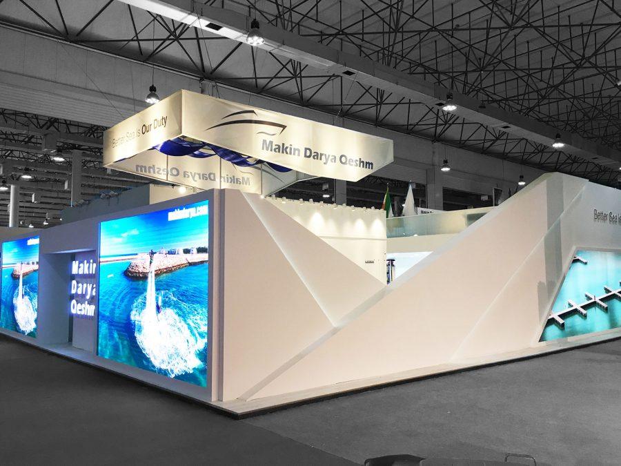 غرفه نمایشگاهی مکین دریا قشم