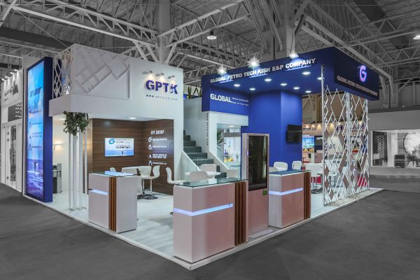 Global Petro Tech Kish Booth