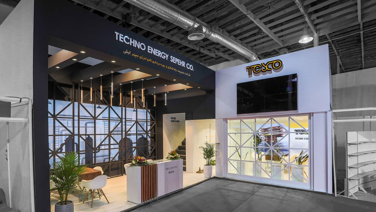 Techno energy sepehr Booth