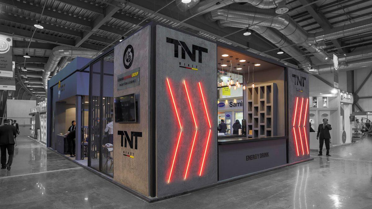 غرفه نمایشگاهی سحرچین TNT