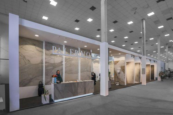 غرفه نمایشگاهی کاشی پالرمو