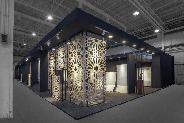 غرفه نمایشگاهی کاشی پردیس