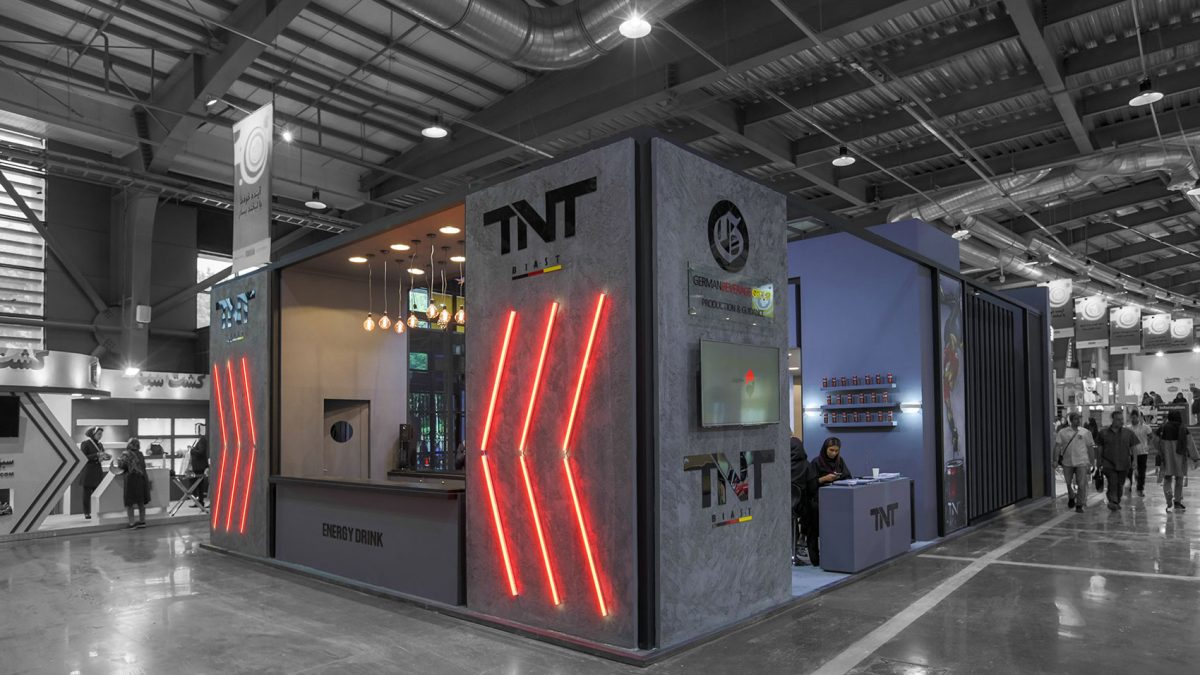TNT Booth
