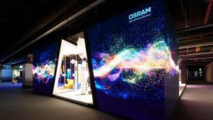 طراحی غرفه و ساخت غرفه برتر شرکت Osaram در نمایشگاه ساختمان و روشنایی 2018 آلمان- فرانکفورت